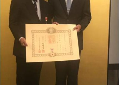 DATO Dr. Siow award presentation ( the order of the Rising Sun, Gold Rays with Rosette) 2017 JB 3